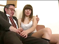 Older man fucks young girl - 4