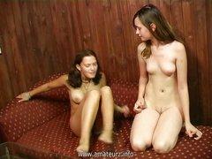 Russian lesbians Anya & Valya 3