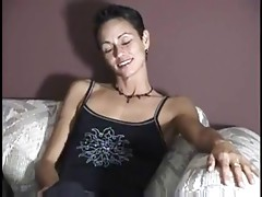 Lesbian Takes First Cock In Awhile