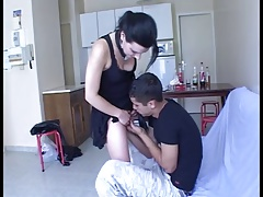 Accidental Creampie for hot teen with a stranger !!! French