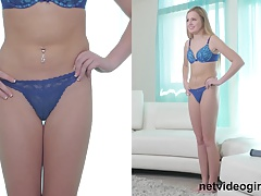 Blond Teenie Acquires Creampied At Calendar Auditions