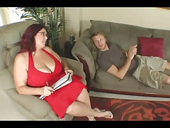 Large Titted BBW Therapy For His Knob