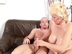 Blond Old slut Hooker fuckin