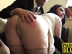 Bigtitted MILF Harley Sin receives her face hole and love tunnel screwed hard