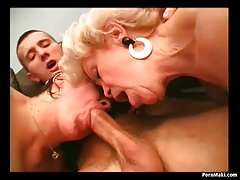 Old slut Effie Three-some