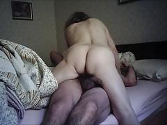 Head Nurse's arse on hidden webcam