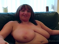 Large boobed boobs Marie ebony bang