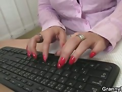 This guy bangs sexually excited office lady