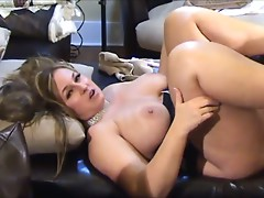 Breasty MILF cheating on her hubby