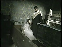 Bride to be Fucked by Priest -