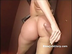 Slutty booty brunett -