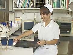 nurse japan big boobs tits asian