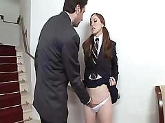 Student Gets Spanking