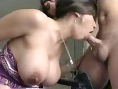 Unsatisfied Housewife Alexis gets her Big Tits and Ass fucked by her hair dresser