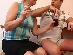 Drunk Russian Mom And Boy Fucking -