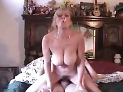 Hot MILF With Big Natural Tits Smokes & Fucks