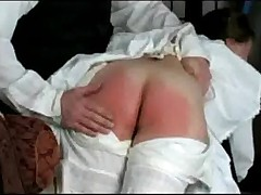 Lucinda gets spanked  -