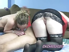 Petite blonde swinger holly riding a stiff cock  -