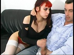 French goth sonia anal  -