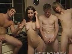 Amateur Gangbang Party Part 02 -