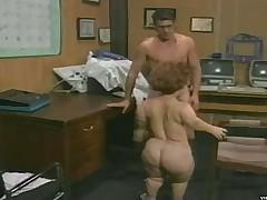 Sex-crazed midget loves big hard cocks