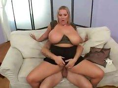 Hot Fresh Juggs Curvy Blonde Banged Hard
