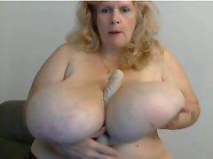 Susie Q the biggest tits