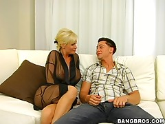 MILF picked up, then fucked!