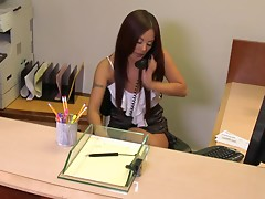 Gorgeous Secretary Mischa Brooks Gets A Hard Fuck From Her Boss In The Office