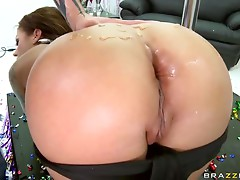 Deep Throated Anal Brunette Mason Moore Goes Ass To Mouth For a Facial