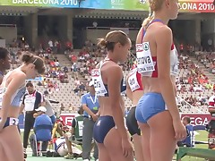Jessica Ennis sexy hot  butt