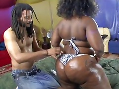 Massive Ass Ebony Getting Fucked