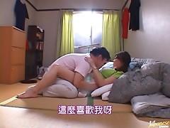 Reiko Yamaguchi Making Her Big Tits Jiggle As She Rides A Hard Cock