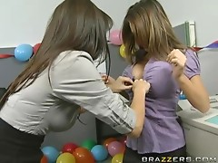 Smoking Hot Lesbians With Natural Tits And Bubble Butts Play With Each Other