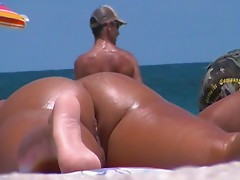 Beach ass and pussy