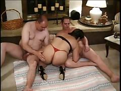 mature brazilian fucks with two dicks