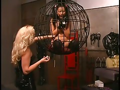 Fragile Submissive Asian Gets Tortured By Busty Mistress Nicolette