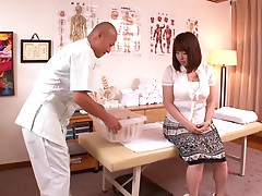 Rin Aoki Erotic Massage For Big Titted Housewife