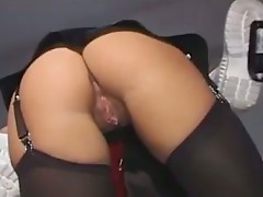 Keep an eye on these two raging, nasty medical practitioners as they reveal their lustful attitude towards sex!  See how this nasty huge cock of this nasty doctor rams this luscious nurse slut pussy and dig deeper into her cunt tunnel, banging like there'