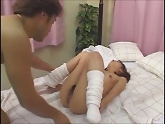 Japanese nurse play