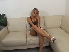 Hot thick Laci gets a creampie