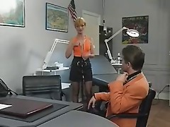Fist fucking in the doctor's office