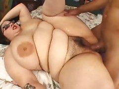 Nice bbw woman with hairy pussy