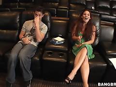 Guy Picks Chick Up At Cinema