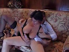 Busty French Milf Fucked by TROC