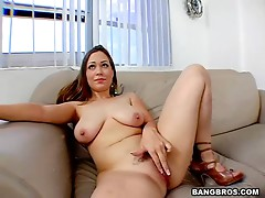 A Hard Fuck With The Busty Brunette Kaylee