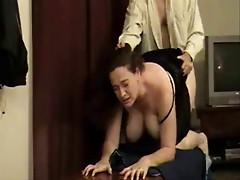 Big tit amateur woman gets it hard