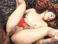 Horny Indian Babe Gets Creampied