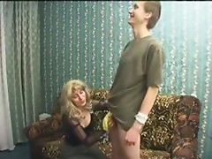 Russian Mature Fucked By Young Teen Boy