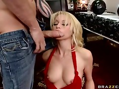 Rough Sex and Facial For Blonde Babe Monique Alexander